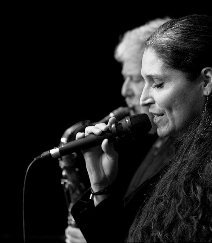 Petra Scheser mit Lemon Crash, die Jazz/ Fusion Band aus München