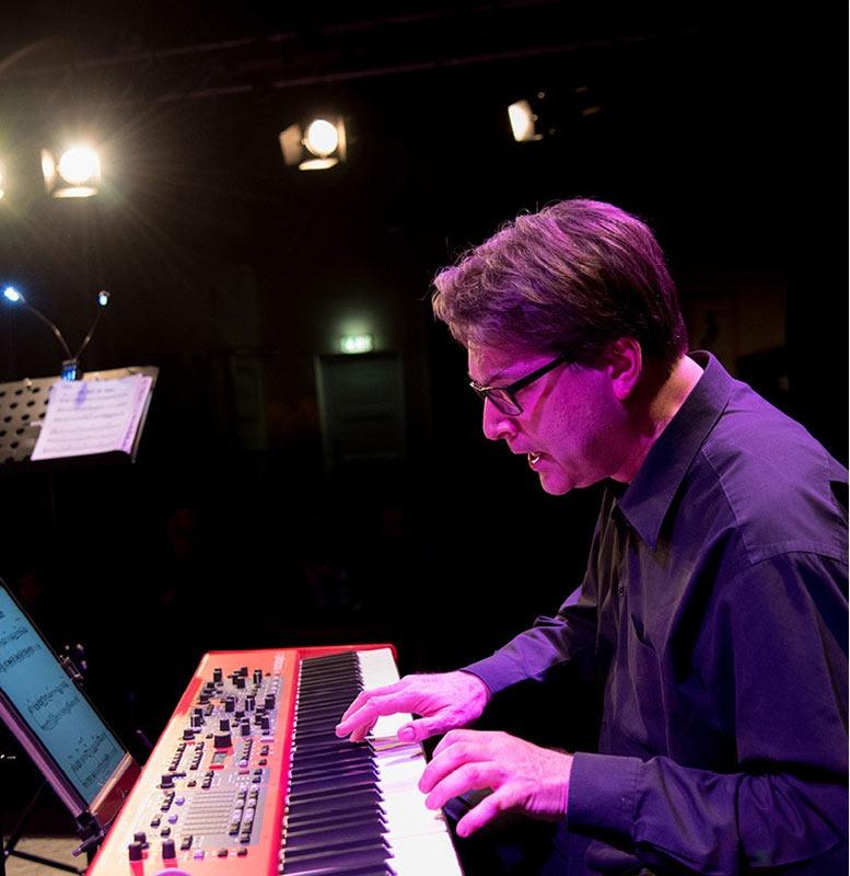 Volker Giesek mit Lemon Crash, die Jazz/ Fusion Band aus München