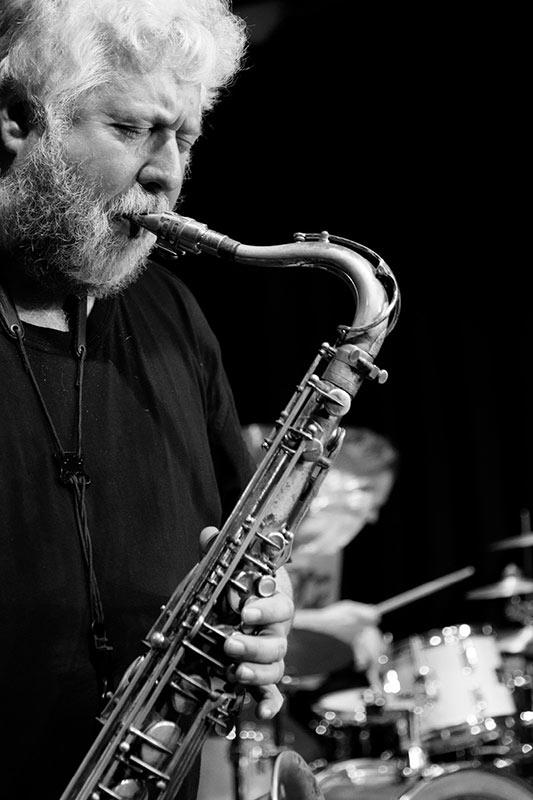 Wolfgang Wahl mit Lemon Crash, die Jazz/ Fusion Band aus München