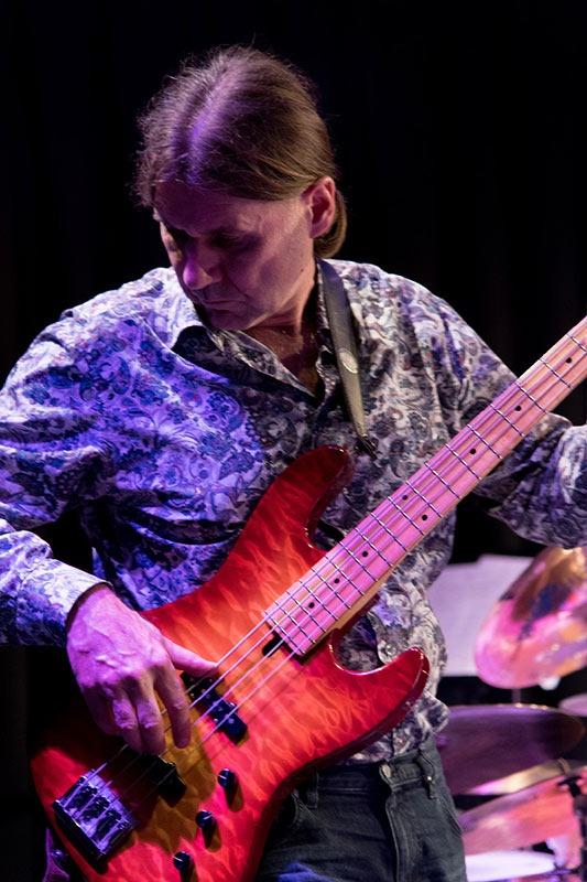 Rudi Schiessl mit Rudi Schiessl mit Lemon Crash, die Jazz/ Fusion Band aus München