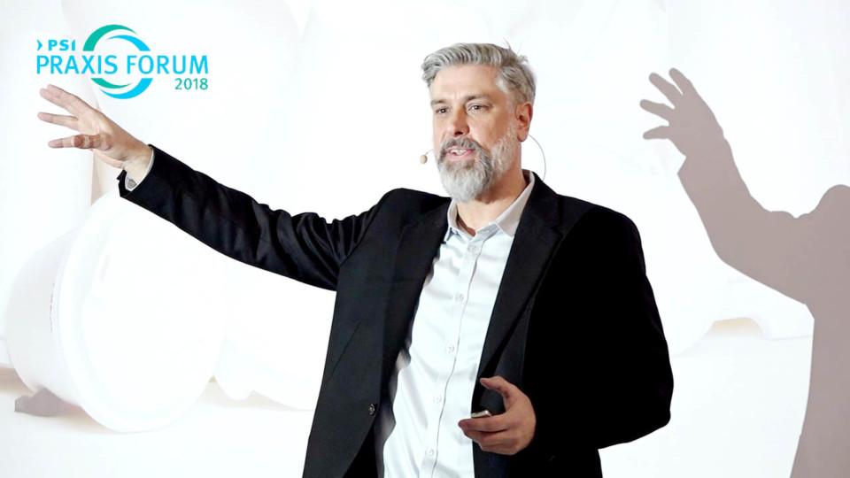 Speaker Redner Ingo Moeller beim Vortrag Kaffee to Go mit Geschmack und gutem Gewissen