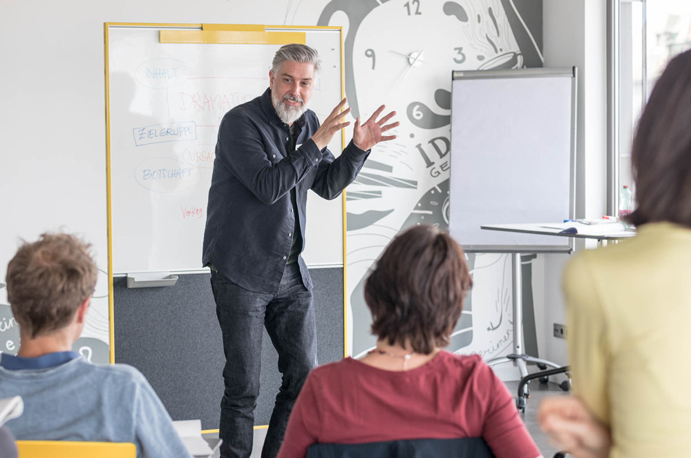 Workshop Markenbildung mit Ingo Moeller