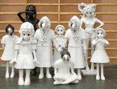 lebensgroße Skulpturen von Kim Simonsson Foto Jefunne Gimpel