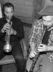 Band Sophie Hunger Trompeter und Klarinettist