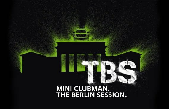 MINI clubman the Berlin Session worldwide launch